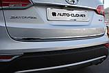 Хром накладка на крышку багажника Huyndai Santa Fe 2012- (Autoclover/C753), фото 9