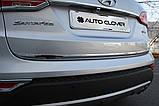 Хром накладка на крышку багажника Huyndai Santa Fe 2012- (Autoclover/C753), фото 10