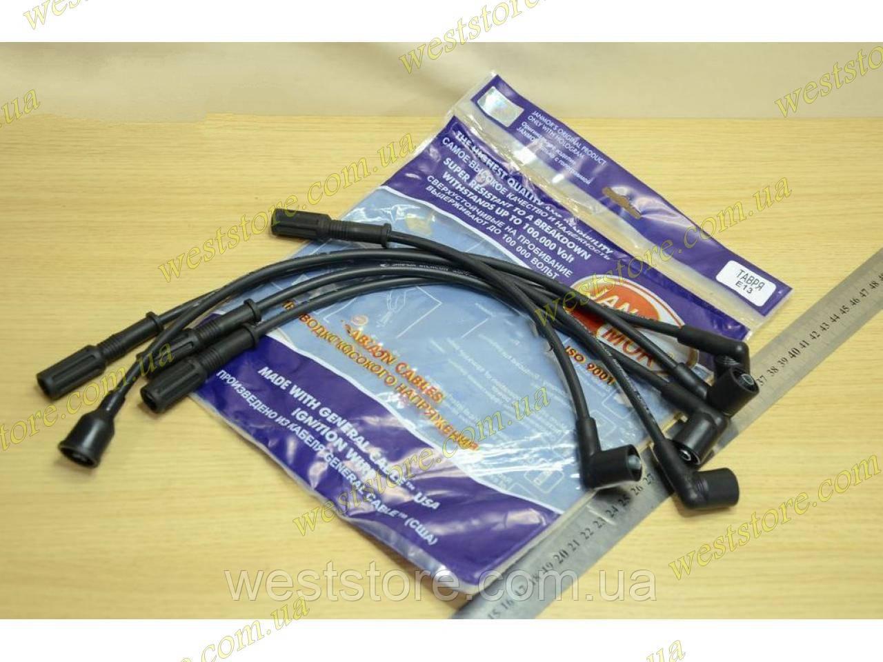 Провода свечные высоковольтные Заз 1102,1103,Таврия,Славута JANMOR Е-13