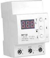 Реле контроля тока RET I32 для защиты электросети всего дома или квартиры