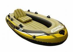 Лодка надувная FISHMAN 300 SET+насос и весла