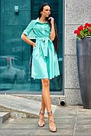 Платье jadone fashion, цвет бирюзовый, размер XL