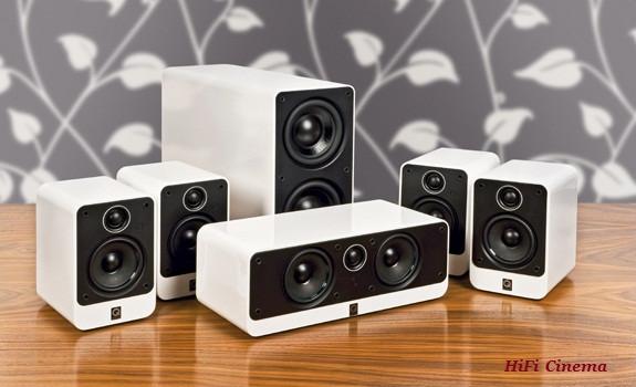 Комплект домашнего кинотеатра Q Acoustics 2000i series Piano White
