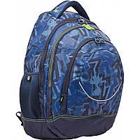 "Рюкзак подростковый YES Т-14 ""Graffity"" 46.5*33*15 см (552676)"