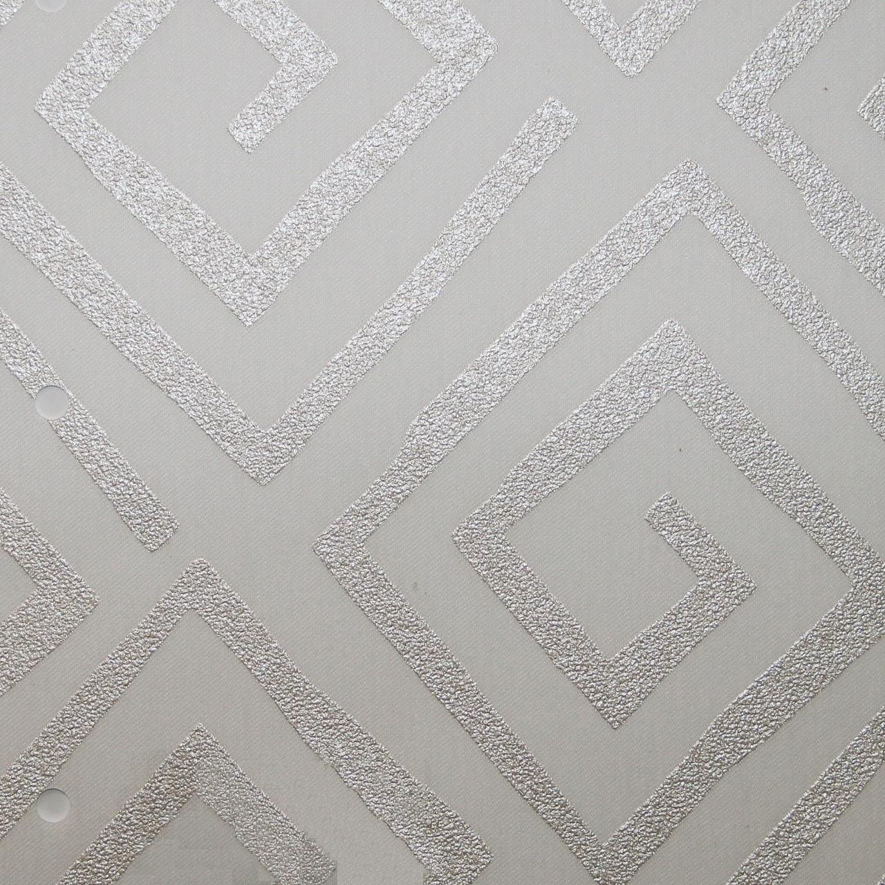 Готовые рулонные шторы Ткань Мехико В-1025 Белый