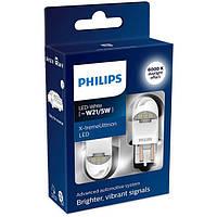 Светодиодная LED автолампа PHILIPS W21/5W