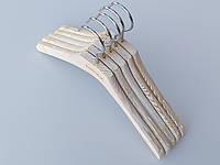 Плечики Mainetti Mexx с антискользящей резинкой под старину кремового цвета, длина 33,5 см, в упаковке 5 штук