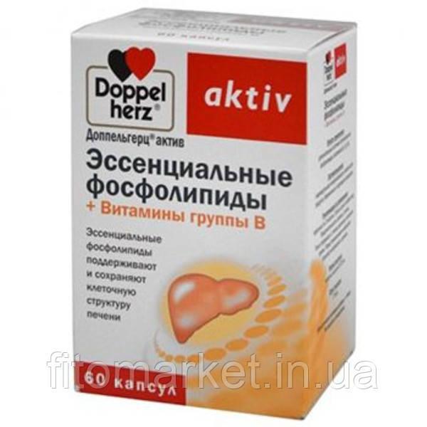 Доппельгерц Витамины группы  В+ эссенциальные фосфолипиды капсулы №50
