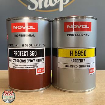 Грунт эпоксидный Novol Protect 360 1:1, 1,6 л комплект