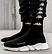Женские кроссовки Balenciaga Speed Trainer Sock Black, фото 9