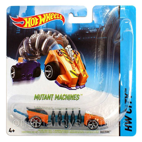 "Hot Wheels Машинки ""Мутант""  Buzzerk BBY78"