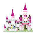 Конструктор Sluban Розовая мечта M38-B0151 Замок принцессы, фото 2