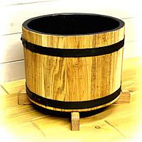 Деревянная кадка для цветов Seven Seasons™ Old Barrel Золотой Дуб 10 литров (WP-0023)