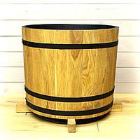 Деревянная кадка для цветов Seven Seasons™ Old Barrel Золотой Дуб 30 литров (WP-0029)