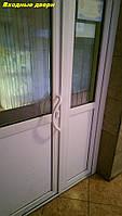 Металлопластиковые входные двери Киев - компания Окна Маркет, фото 1