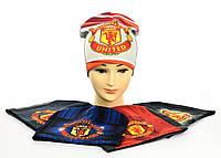 "Трикотажные шапки ""Manchester United"", фото 1"