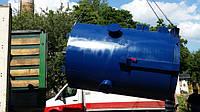 Погрузка парогенератор Идмар на твердом топливе.