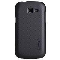 Чехол Nillkin для Samsung S7390 Galaxy Trend Lite чёрный (+пленка)