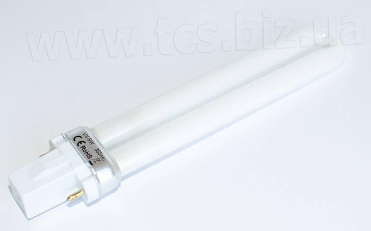 UV-9W 365nm (E) | 152 мм УФ-лампочка, фото 2