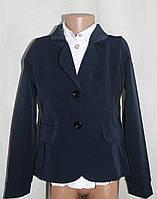 Пиджак школьный для девочки классический  рост S(122), M(128), L(134), XL(140)