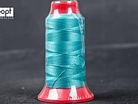 Нитка швейная TYTAN (Турция) № 40, для машинки Версаль, цв. бирюзовый (А801), 500 м