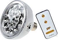 Лампа светодиодная с пультом DP Led-1734 2 в 1 (лампочка, светильник)