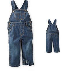 Полукомбез/штаны джинсовый Carters (18М)