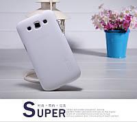 Чехол Nillkin для Samsung Galaxy Win Duos I8552 белый (+пленка)