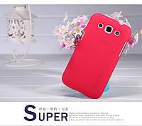 Чехол Nillkin для Samsung Galaxy Win Duos I8552 красный (+пленка)
