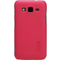 Чехол Nillkin для Samsung Galaxy Core Advance I8580 красный (+пленка)