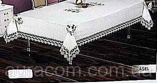 Скатерть, жироотталкивающая,  Isadora asel белая