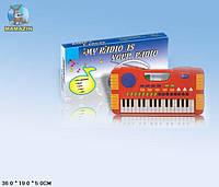 Детский синтезатор на батарейках