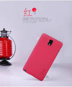 Чехол Nillkin для Samsung Galaxy Note 3 N9000 красный (+пленка)