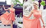 Шикарное шифоновое платье, фото 2