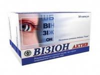 Визион актив /Элит-фарм/ 50 капс.Заболевания органов зрения, Кровоизлияния в сетчатке глаза