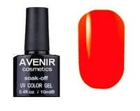 Гель-лак AVENIR Cosmetics №56. Оранжево-розовый электрик