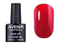 Гель-лак AVENIR Cosmetics №62. Ретро-красный