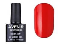 Гель-лак AVENIR Cosmetics №65. Классический красный