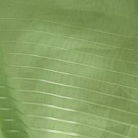 Тюль вуаль вальс полоса зеленое яблоко