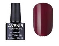 Гель-лак AVENIR Cosmetics №70. Бордовый классический