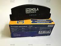 Колодки тормозные передние Hola BD816 на Нива 2121-2131, Нива Шевроле (2123).