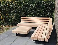 Садовая лаунж лавочка в стиле LOFT (NS-970001430)