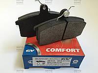 Колодка тормозная передняя (4шт) GV527. ВАЗ 2108-2112. (GV), фото 1