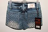 Шорты джинсовые для девочки арт 701 размер 22., фото 2
