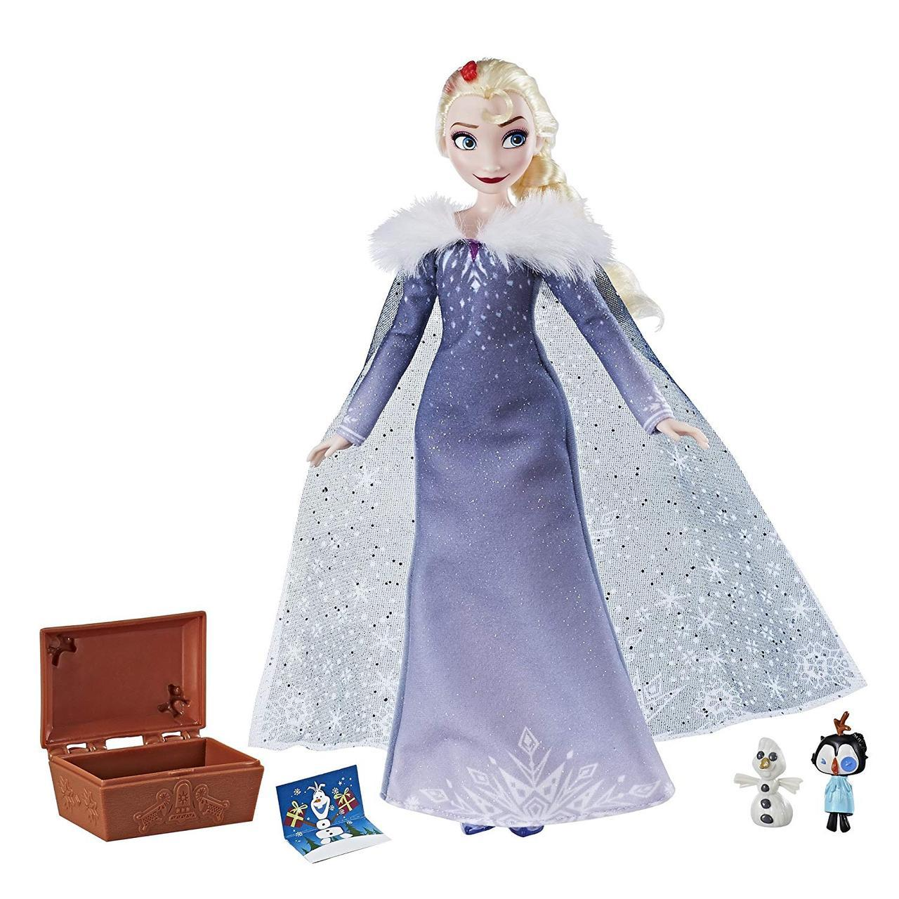 Кукла Эльза - Загадочные традиции Disney Frozen Elsa's Treasured Traditions Hasbro