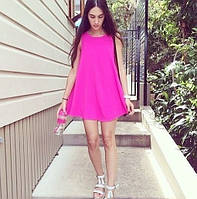 Свободное шифоновое платье, фото 1