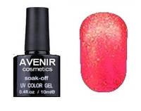 Гель-лак AVENIR Cosmetics №142. Клюква с бриллиантовой пылью