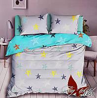 Комплект постельного белья для подростков Звезды цветные полуторный