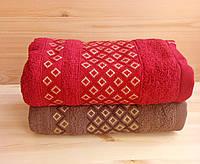 Набор махровых полотенец  50х90, 2 шт,  Турция, фото 1