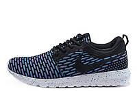 Мужские кроссовки Nike Roshe Run Flyknit London Blue размер 41 (Ua_Drop_115313-41)